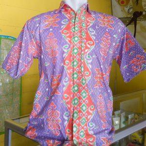 Batik ungu Pria vievie house