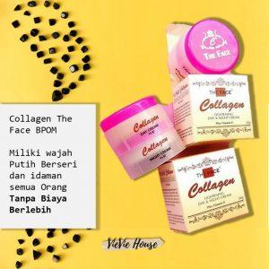 Cream Collagen The face BPOM Vievie House