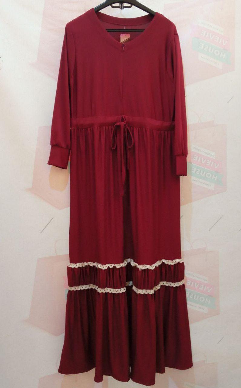 ini adalah Gamis Jersey Syafira Maroon, size: 104 cm x 135 cm, material: Jersey, color: red maroon, brand: Gamisindonesia, age_group: all ages, gender: female