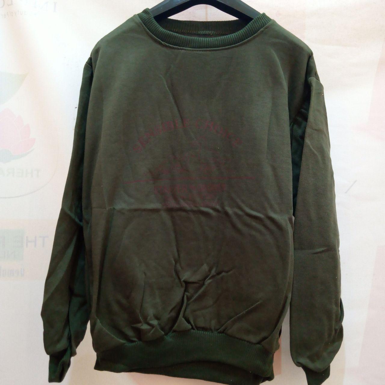 ini adalah Sweater Sensico Emerald, size: LD 90cm, Panjang 60cm, material: Fleece, color: dark green, brand: jaketindonesia, age_group: all ages, gender: unisex