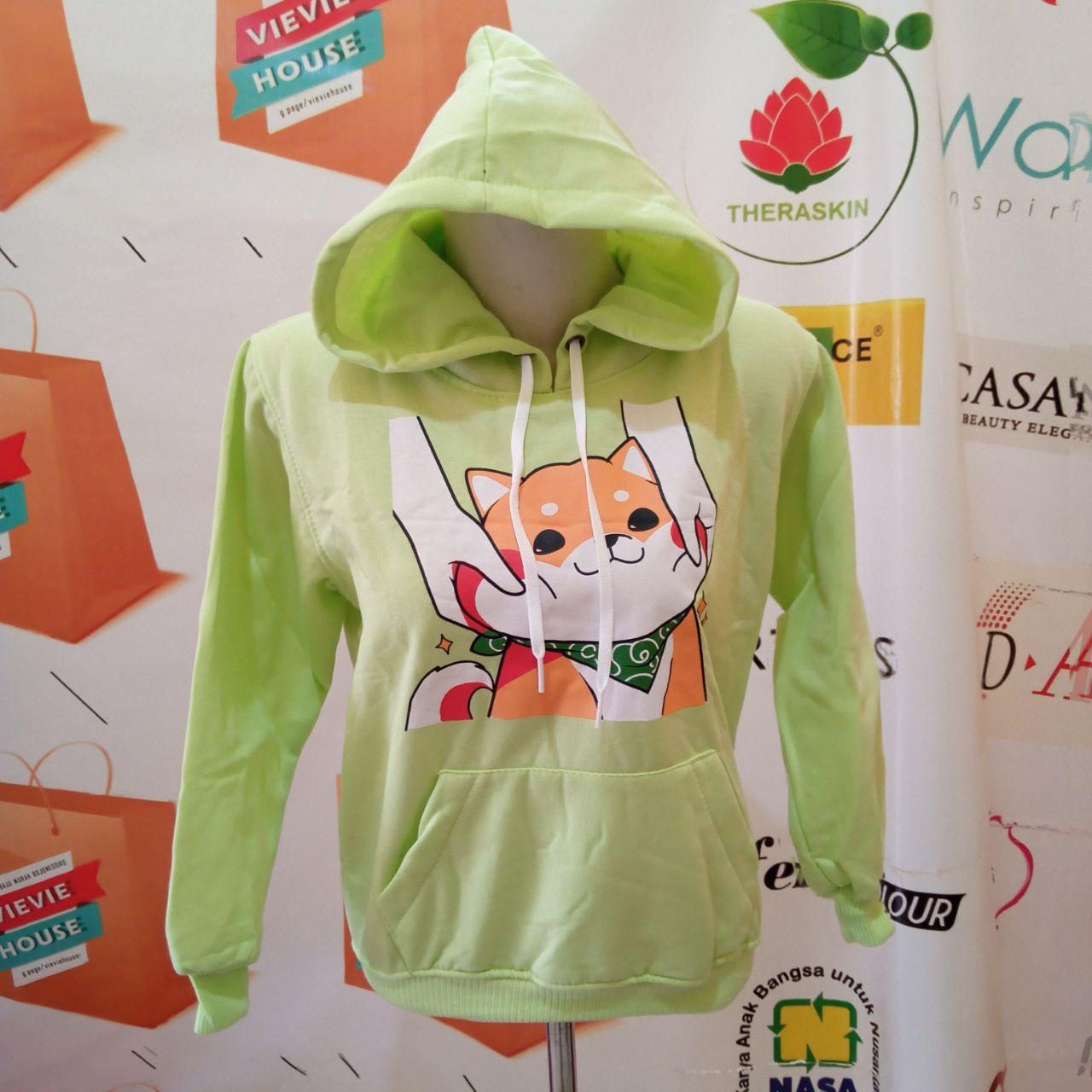 ini adalah Jaket Anak Sibu Hijau, size: LD +- 78cm, material: Fleece, color: Green, brand: JaketAnakIndonesia, age_group: kids, gender: unisex
