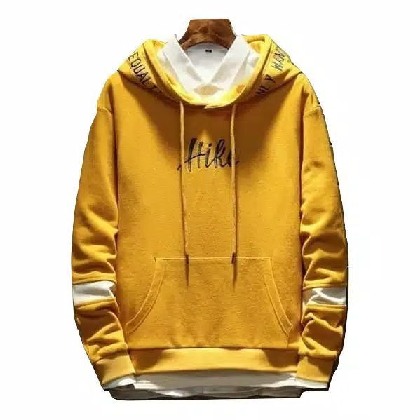 ini adalah Jaket Hike Kuning, size: LD 90cm, Panjang 60cm, material: Fleece, color: yellow, brand: jaketindonesia, age_group: all ages, gender: unisex
