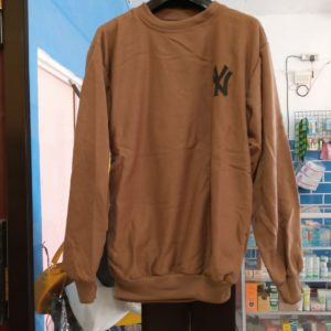 ini adalah Sweater NY2 Mocca, size: LD 90cm, Panjang 60cm, material: Fleece, color: Chocholate mocca, brand: jaketindonesia, age_group: all ages, gender: unisex