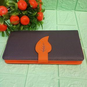 ini adalah Dompet Daun Panjang Orange, size: 20 cm x 12 cm, material: synthetic, color: dark grey, brand: Dompetindonesia, age_group: all ages, gender: female